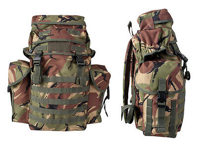 British Army Northern Island Military Travel Back Pack Rucksack Molle DPM 38L