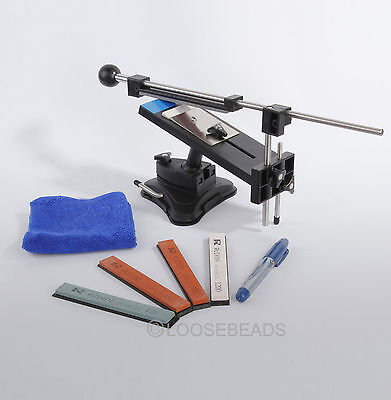 New Knife Sharpener Professional Kitchen Sharpening System Fix-angle With Stone