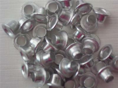 "1/8"" eyelets SILVER pk of 50 round scrapbooking craft eyelet card making"
