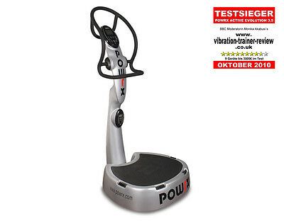POWRX Vibrationsplatte Active Evolution 3.5 Vibrationstrainer Fitness Massage