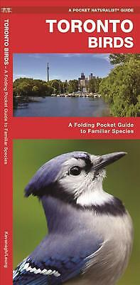 Toronto Birds: A Folding Pocket Guide to Familiar Species by James Kavanagh (Eng