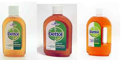 New Dettol Original Antiseptic Liquid Disinfextant Liquid 250,500,750Ml 1Ltr