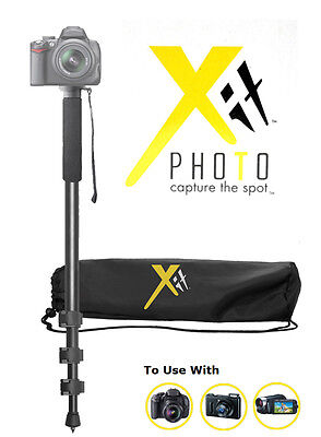 "XIT Lightweight 72"" HEAVY DUTY PRO CAMERA MONOPOD FOR CANON EOS DSLR XT72MP"