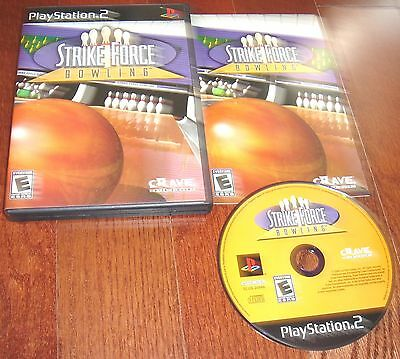 Strike Force Bowling for Playstation 2 Complete FAST SHIPPING!