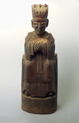 Chinese Wooden House God (G289)