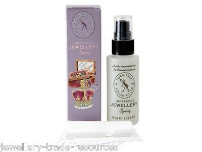 Town Talk  Polishing & Cleaning Spray Kit & Cloth For Jewellery & Jewellers