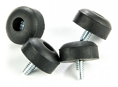 4 X Ecb151 Dunlop Crybaby Wah Pedal Replacement Rubber Feet & Screws Gcb-95