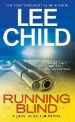 Running Blind by Lee Child Mass Market Paperback Book (English)
