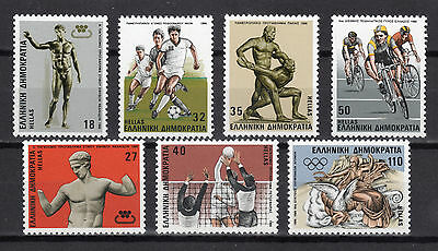 Greece 1986 Sporting Events Mnh