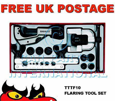 Teng Tools Comprehensive Tube Flaring Tool Kit Set TTTF10