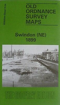 Old Ordnance Survey Map Swindon NE Wiltshire 1899 Sheet 15.04  New