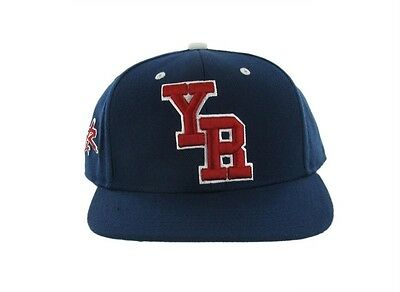 a8590ff5da9d55 Young & Reckless College Snapback Navy Blue Wool Blend Hat Ball Cap New NWT