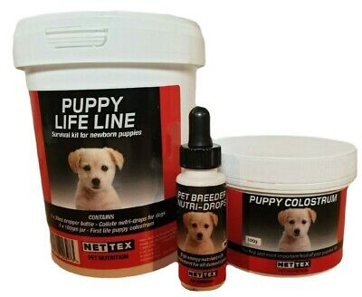 Collate Life line puppy colostrum nutri drops whelping