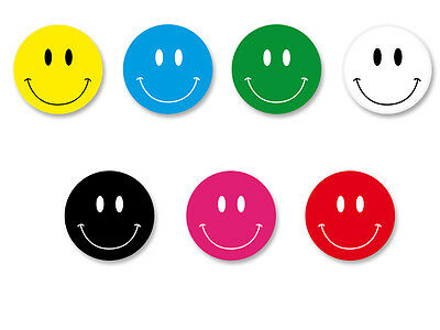Lot Pack Badge Button Ø25mm Smiley Face Smile Smiling Sourire Happy Face