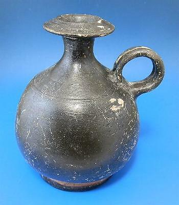 Greek Apulian Black Ware Aryballos (G309)