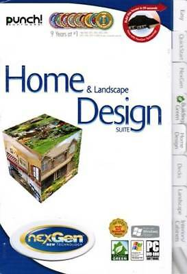 Punch Home & Landscape Suite - NexGen Decks Design Interiors Exteriors PC NEW