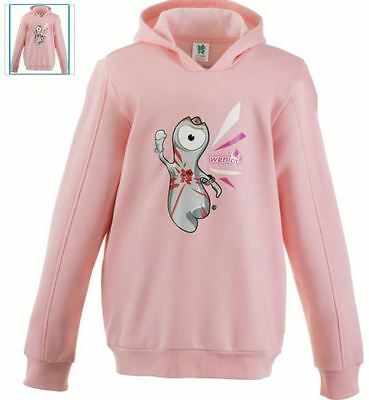Official London 2012 Girls' Pink Hoodie 4-5 Years BNWT