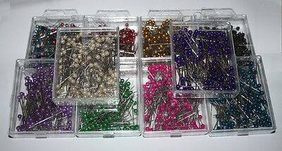 144 pearl pins choose colour, wedding flowers buttonholes buttonholes corsage