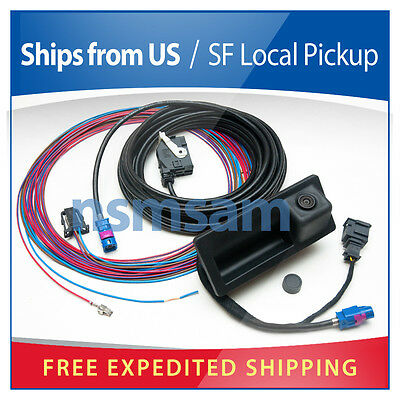 scosche cr012 stereo wiring harness connector for chrysler jeep vw jetta genuine oem rear view back up camera tiguan passat rns315 rns510