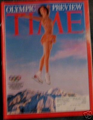 Time Magazine OLYMPIC PREVIEW  Feb 11, 2002 d