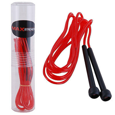 Skipping Rope Fitness Boxing Jump Exercise Gym Jumping Speed Plastic Handle