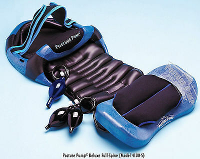 Posture Pump Dlx Full Spine Neck Back Pain Relief Traction Disc Hydrator 4100-S