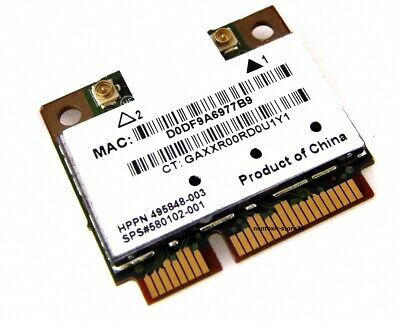 Atheros AR9280 AR5BHB92 half size mini PCI-E Wireless HP 495848-004