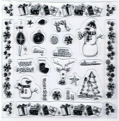 # Fiskars Tis the Season clear stamp set