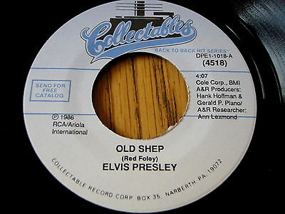 "Elvis Presley - Old Shep / You'll Never Walk Alone    7"" Vinyl"
