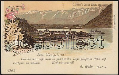 A S Zell am See - Litho