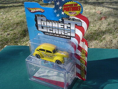 HOT WHEELS Connect Cars: NEW YORK. Fat Fendered '40 Taxi.  New in Blister Pack!