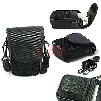 New Black Mesh Universal Digital Camera Pouch Cover Case Bag Sleeve Protector