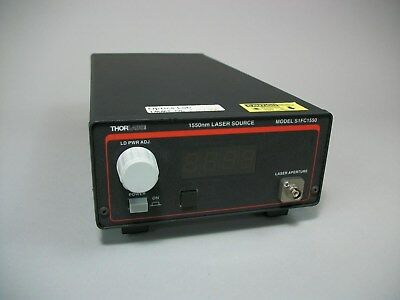 ThorLabs Fiber Coupled Laser Source 1550nm S1FC1550 -Used AS IS