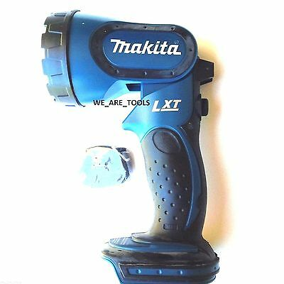 New Makita 18V BML185 Cordless Battery Light 2 Bulbs, 18 Volt Lamp