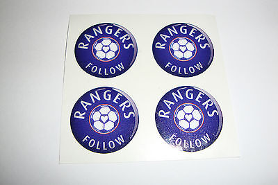 """12 Rangers  Crown Green Stickers  1""""   Lawn Bowls Flatgreen  And Indoor Bowls"""
