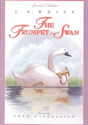 The Trumpet of the Swan (Full Color) by E.B. White (English) Paperback Book Free