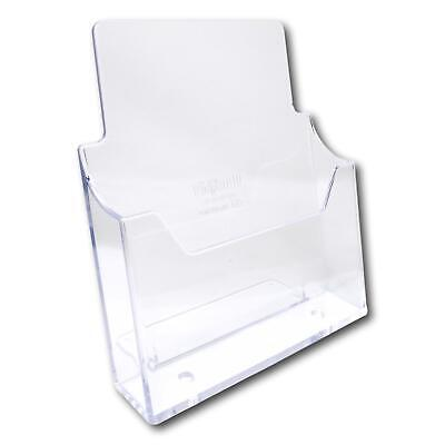 A4 A5 DL Trifold Freestanding Counter Leaflet Menu Brochure Holder Stand Display