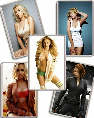 Scarlett Johansson Fridge Magnet Chose from 11 Images FREE POSTAGE