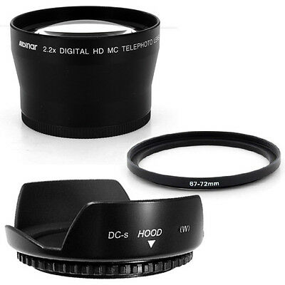 67mm Hood Flower Crown Petal,Telephoto Lens for Canon EF-S 18-135mm f/3.5-5.6 IS