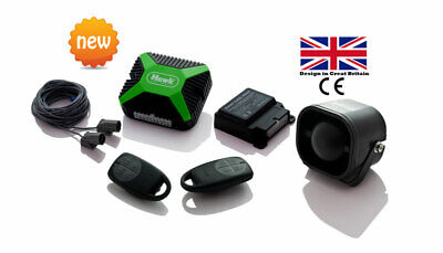 Car Alarms Central Lock + Immobiliser +Dual Ultrasonic Sensor+ Window Closer