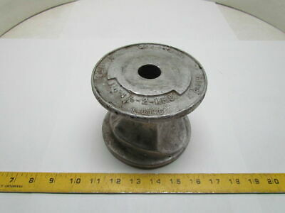 """Greenlee 1-0945 Pipe Conduit Bender Pivit Shoe For 1/2to3""""IPS 4-7/16""""wide 1""""Hole"""