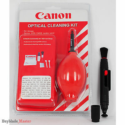 Red 7 in 1 Professional Lens Cleaning Kit + Lens Cleaning Pen Cleaner For Canon