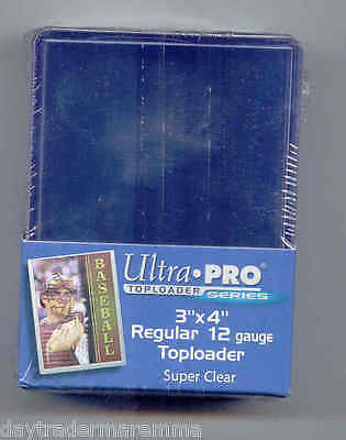 Ultra Pro sealed 25 pack of top loaders