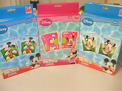 Disney Swimming Armbands  3/6 Yrs  New,, All Sold Separtatley