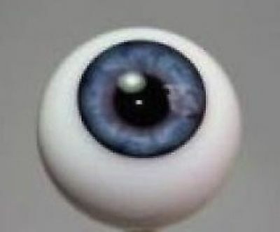 Blue #9 German Glass Eyes Middle - 22mm Made Exclusively for Irresistables!