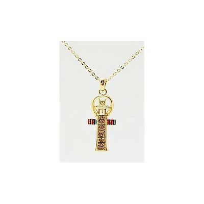 Egyptian Artistic Ankh Cross Necklace Pendant.beautiful Ancient Egypt Jewelry