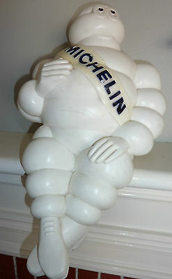 1966 Vintage Original Counter Display Hard Plastic MICHELIN Man 18 inch