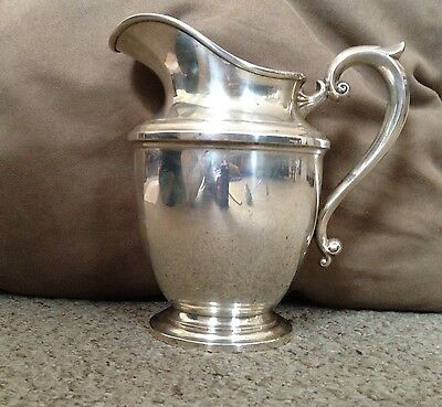 Sterling Silver Water Pitcher from Ellmore Silver Company Meriden, Connecticut