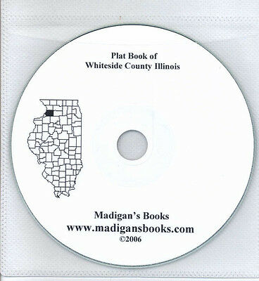 Whiteside Co Illinois IL plat book  genealogy Morrison land owners history