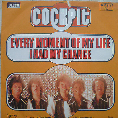 "7"" 1977 RARE MINT- ! COCKPIT : Every Moment Of My Life"